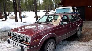 jeep eagle sx4 walk around and start up of a 1987 amc eagle wagon youtube