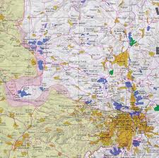 Jerusalem World Map by