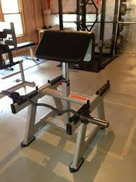Body Solid Preacher Curl Bench Check Out My New Standing Preacher Curl Bench Bodybuilding Com