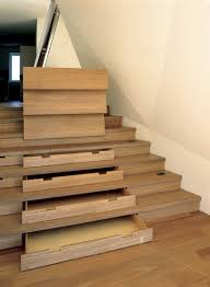 stair astonishing solid wood space saving staircase with drawer