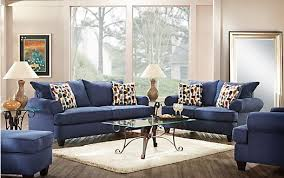 blue living room set navy blue living room set awesome home writers bloc navy blue