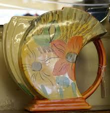 Vase Shaped Jug 1930s Art Deco Wadeheath Streamline Jug Shaped Vase