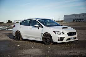 white subaru car review 2016 subaru wrx sti sport package canadian auto review