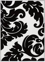 Black And White Rugs Fancy Image Of Rectangular Moroccan Fringe Black And White Rugs