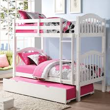 Bunk Bed With Trundle Bed Acme Furniture Heartland Panel Bunk Bed With