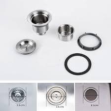 Online Get Cheap Stainless Basket Strainer Aliexpresscom - Kitchen sink waste strainer