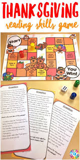 thanksgiving reading activities students love playing this game to learn about thanksgiving and to