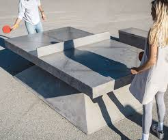 home ping pong table concrete ping pong table home decorating ideas