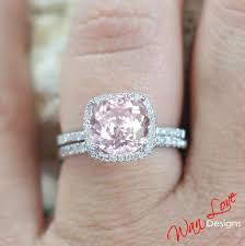 light pink engagement rings 15 best ideas of light pink wedding rings