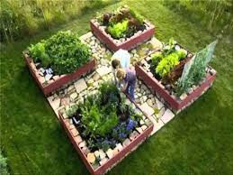 raised bed garden design layout home outdoor decoration