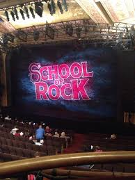 winter garden theatre section mezz row a seat 2 of