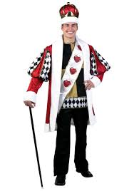 alice in wonderland costume spirit halloween king of hearts deluxe costume costumes halloween costumes and