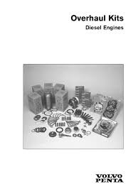 overhaul kits diesel engines volvos