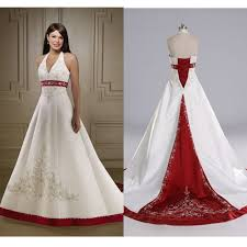 white and red wedding dress wedding dresses wedding ideas and