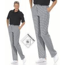 tenue de cuisine femme pantalon cuisine ou boulanger femme lavable à 95 c