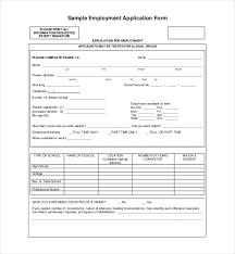 simple printable job application template application form in doc sle job application form sle