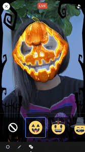 new halloween mask to use facebook u0027s new halloween masks