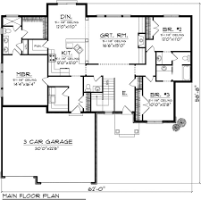 Craftsman Ranch House Plans 249 Best House Plans Images On Pinterest Ranch House Plans