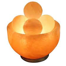 himalayan light salt crystal l himalayan salt bowl l with massage stones bed bath beyond