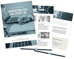 Indesign Template Free Deck Consulting Proposal Template Free Sample