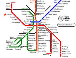 map of boston subway boston t map free printable maps