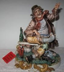 Capodimonte Tramp On A Bench Capo Di Monte Antique Price Guide