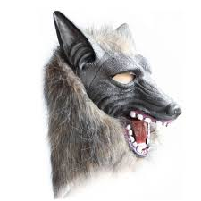 made to order black and silver leather wolf mask amazon com