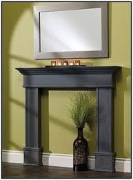 Bedroom Fireplace Ideas by Best 25 Faux Fireplace Mantels Ideas Only On Pinterest Fake