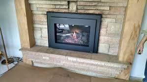 gas burning fireplace binhminh decoration