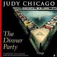 judy chicago dinner table the dinner party wikipedia
