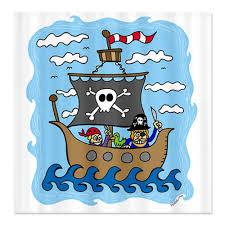 best top kids pirate shower curtain pirate bathroom decor kids