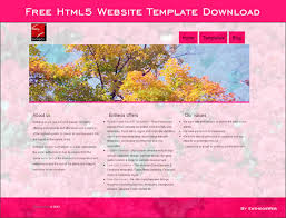 html5 website template free free html5 website template download entheos