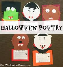 halloween poetry fun u0026 writing activities