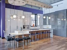 kitchen island designs with table attached