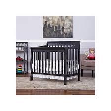 Convertible Mini Crib 3 In 1 On Me Aden 3 In 1 Fixed Side Convertible Mini Crib Black