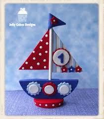 sailboat cake topper fondant sailboat cake topper by fondantcaketoppers on etsy