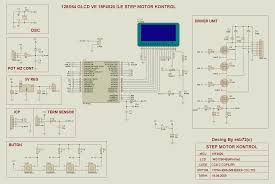 Stepper Motor Driver Wiring Diagram Pic18f4520 Unipolar Stepper Motor Driver Circuit Electronics