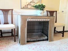 How To Make End Table Dog Crate by Best 25 Dog Crate Table Ideas On Pinterest Dog Crate Furniture