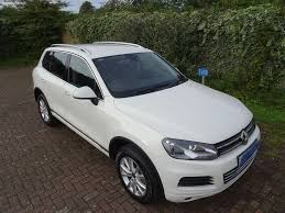 volkswagen touareg white used white vw touareg for sale surrey