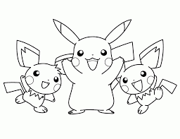 pikachu coloring pages bebo pandco