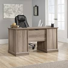 Sauder Harbor View Computer Desk With Hutch Salt Oak by Check Out All Of These 6 Salt Oak Desk For Your Home Craigslistny Us