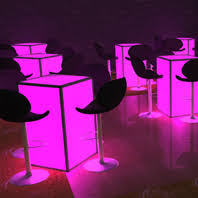 cocktail table rentals led cocktail table rental nyc nj ct and island ny led