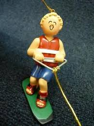 ornament central waterski water skiing ornament new
