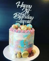 design a cake cake toppers silver design
