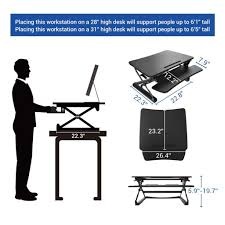 Tall Chairs For Standing Desks by Flexispot Standing Desk Converters Review