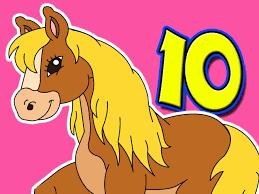 ten little horses song
