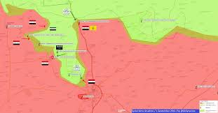 Syria War Map by Agathocle De Syracuse Syria Hama Battle 17 Sept 2014 U2013