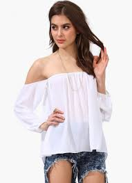 strapless blouse white the shoulder strapless blouse abaday com