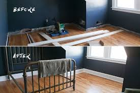 Laminate Flooring Before And After Before U0026 After Indigo Bedroom Jessica Brigham