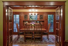 Craftsman Home Interior Design by Mesmerizing 60 Craftsman Dining Room Decoration Design Ideas Of